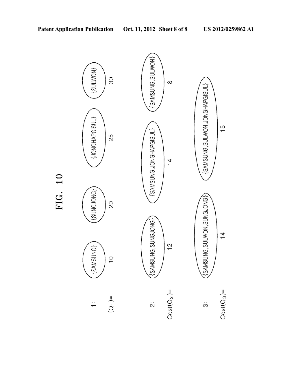 Method and apparatus for processing A query - diagram, schematic, and image 09