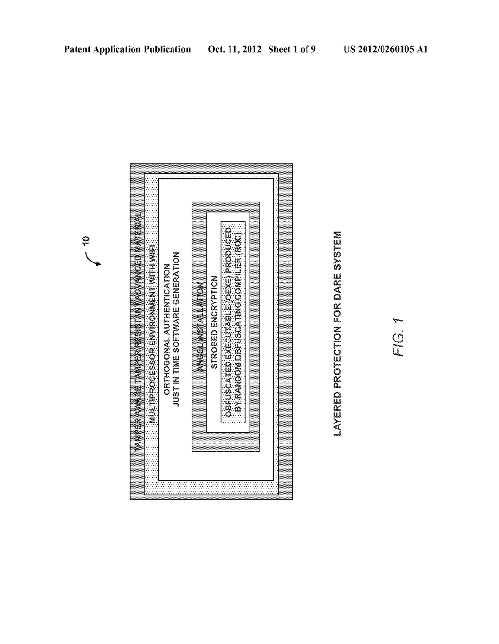 SYSTEM AND METHOD FOR DEFENDING AGAINST REVERSE ENGINEERING OF SOFTWARE,     FIRMWARE AND HARDWARE - diagram, schematic, and image 02
