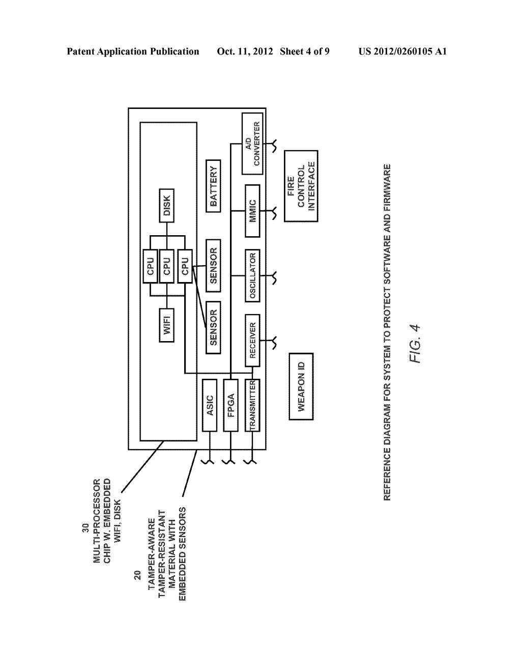 SYSTEM AND METHOD FOR DEFENDING AGAINST REVERSE ENGINEERING OF SOFTWARE,     FIRMWARE AND HARDWARE - diagram, schematic, and image 05
