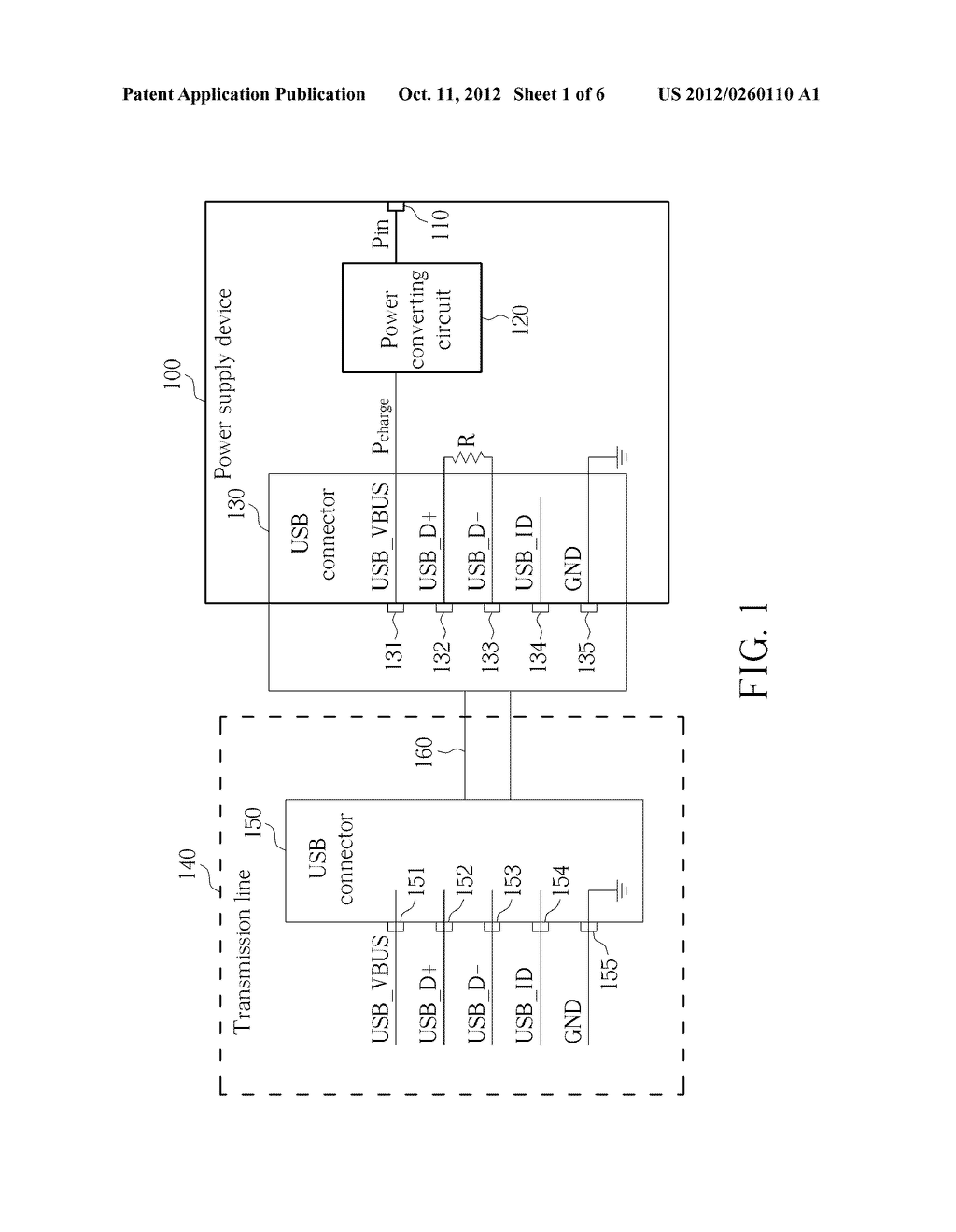 POWER SUPPLY DEVICE, PORTABLE ELECTRONIC APPARATUS AND RELATED METHOD FOR     DETERMINING TYPES OF A POWER SUPPLY DEVICE - diagram, schematic, and image 02