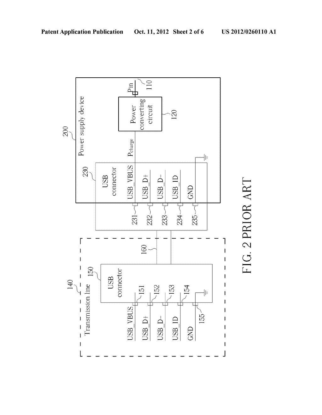 POWER SUPPLY DEVICE, PORTABLE ELECTRONIC APPARATUS AND RELATED METHOD FOR     DETERMINING TYPES OF A POWER SUPPLY DEVICE - diagram, schematic, and image 03