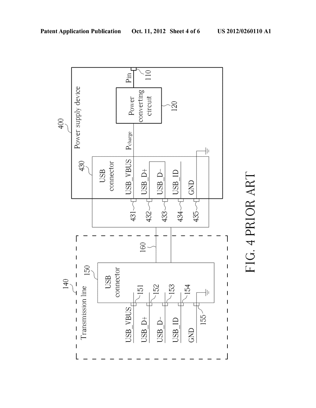 POWER SUPPLY DEVICE, PORTABLE ELECTRONIC APPARATUS AND RELATED METHOD FOR     DETERMINING TYPES OF A POWER SUPPLY DEVICE - diagram, schematic, and image 05