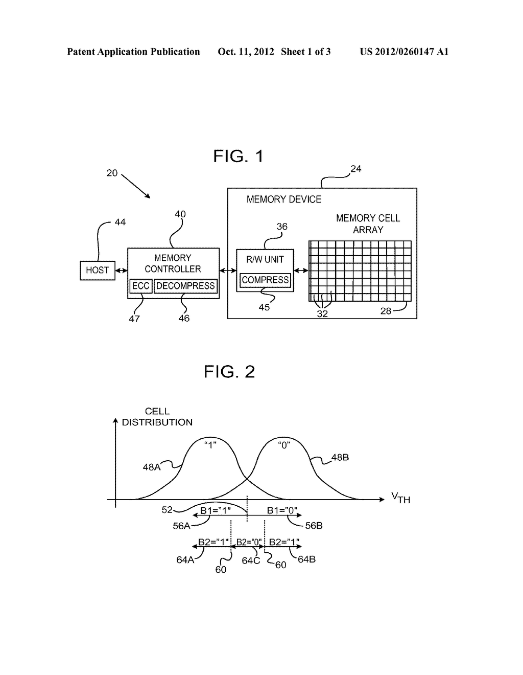 Efficient Readout from Analog Memory Cells Using Data Compression - diagram, schematic, and image 02