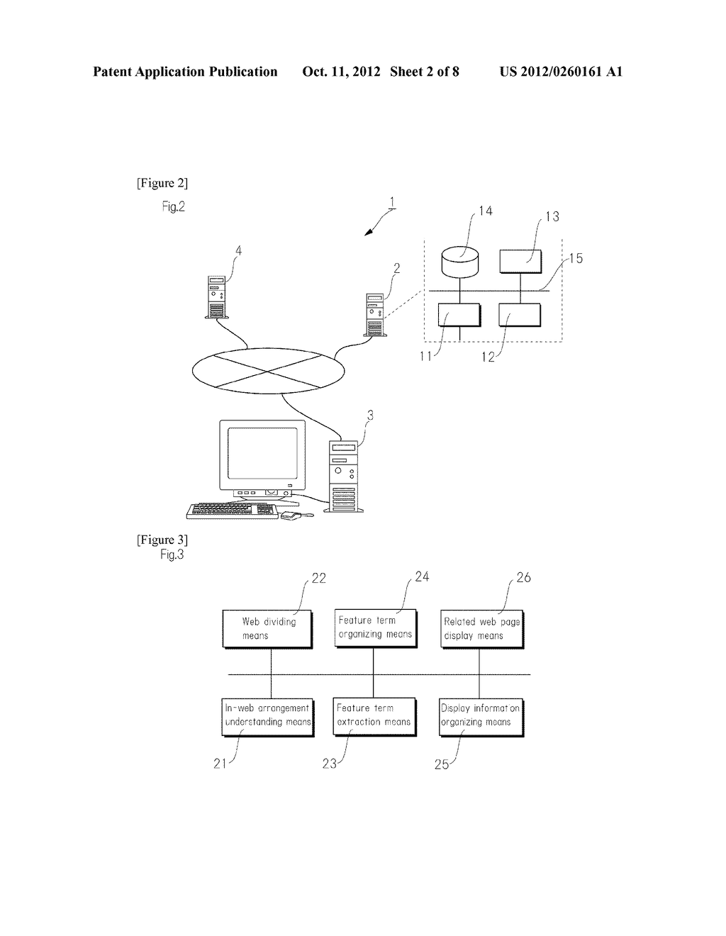 METHOD FOR CLASSIFYING AND ORGANIZING CONTENT IN RELATED WEB PAGES AND     FREELY RECONSTRUCTING AND DISPLAYING THE CONTENT - diagram, schematic, and image 03
