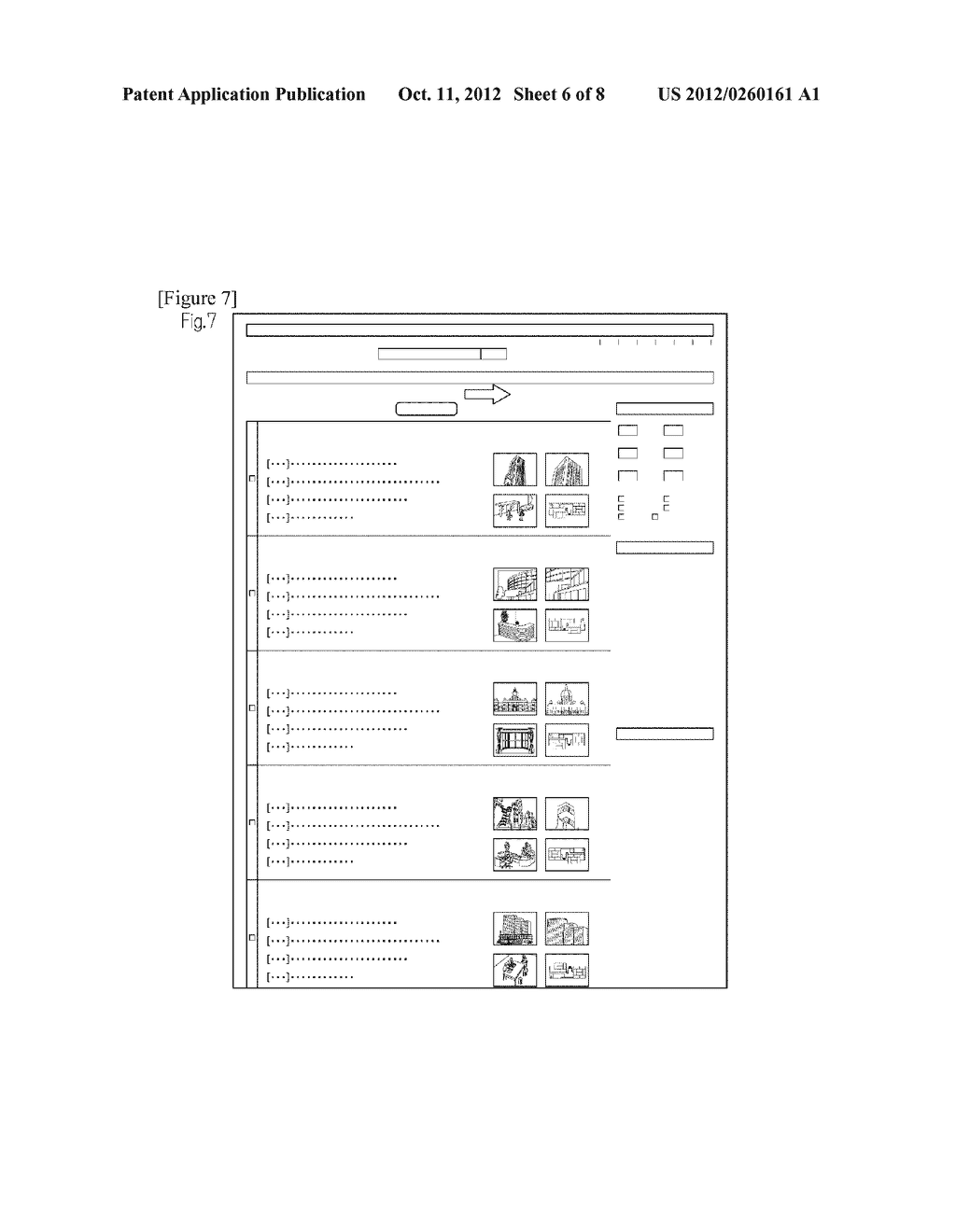 METHOD FOR CLASSIFYING AND ORGANIZING CONTENT IN RELATED WEB PAGES AND     FREELY RECONSTRUCTING AND DISPLAYING THE CONTENT - diagram, schematic, and image 07