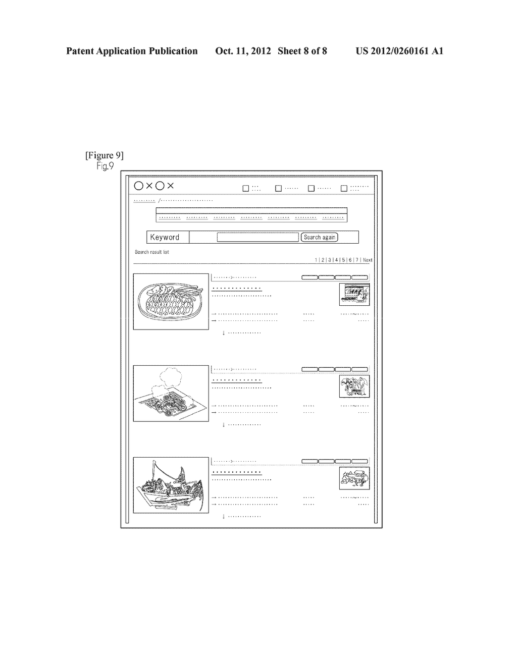 METHOD FOR CLASSIFYING AND ORGANIZING CONTENT IN RELATED WEB PAGES AND     FREELY RECONSTRUCTING AND DISPLAYING THE CONTENT - diagram, schematic, and image 09