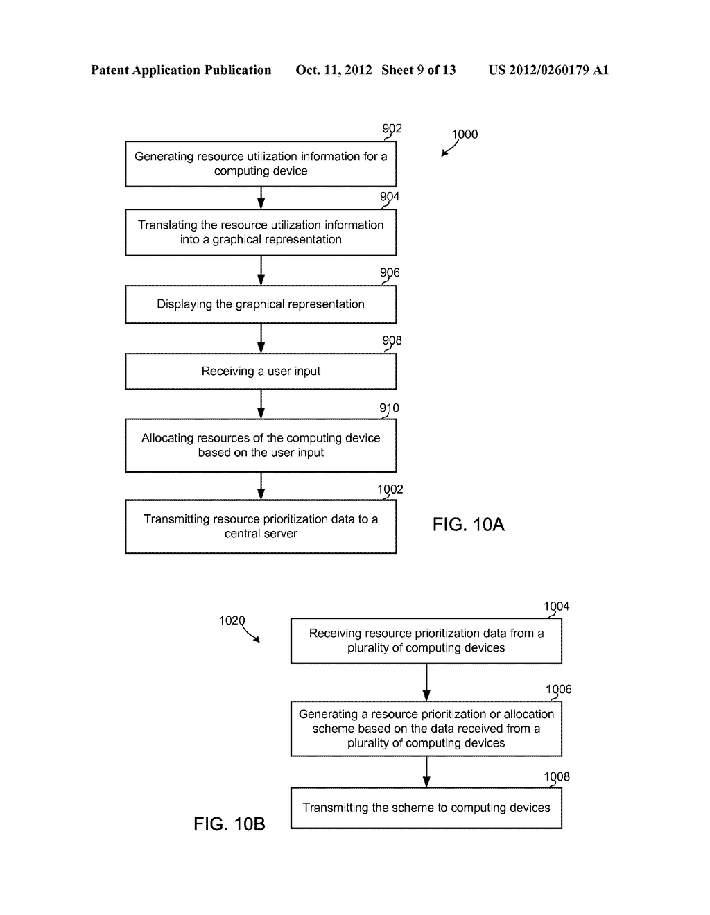 METHOD AND APPARATUS FOR OPTIMIZED EXECUTION USING RESOURCE UTILIZATION     MAPS - diagram, schematic, and image 10