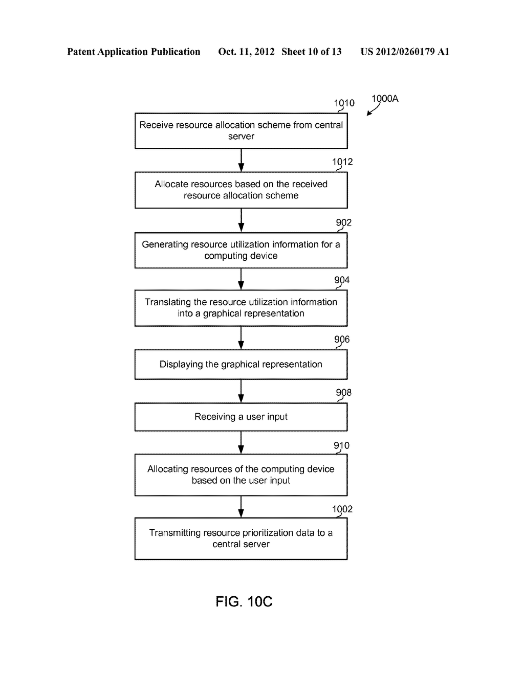 METHOD AND APPARATUS FOR OPTIMIZED EXECUTION USING RESOURCE UTILIZATION     MAPS - diagram, schematic, and image 11
