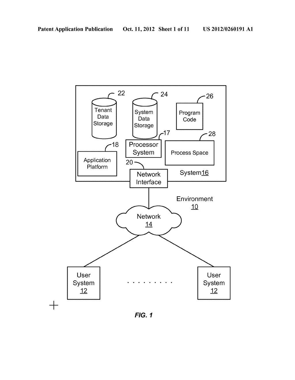 METHOD AND SYSTEM FOR CUSTOMIZING A USER INTERFACE TO AN ON-DEMAND     DATABASE SERVICE - diagram, schematic, and image 02