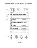 USER CONFIGURABLE UNIVERSAL INTERFACE FOR MANAGING UTILITY SERVICES diagram and image