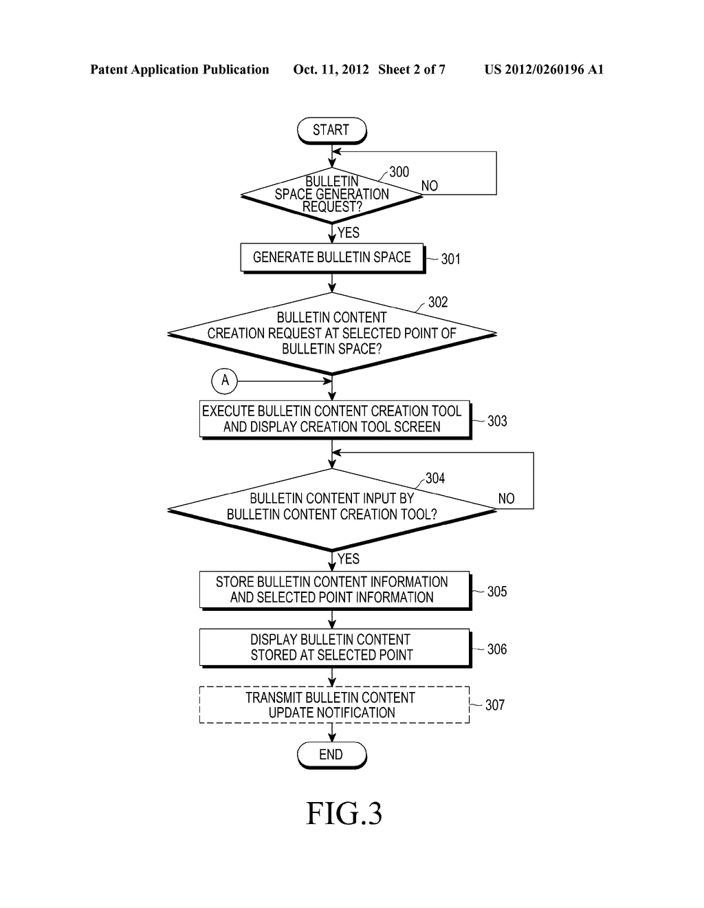 APPARATUS AND METHOD FOR SHARING INFORMATION IN VIRTUAL SPACE - diagram, schematic, and image 03
