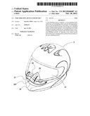 NOSE-SHIELDING DEVICE FOR HELMET diagram and image
