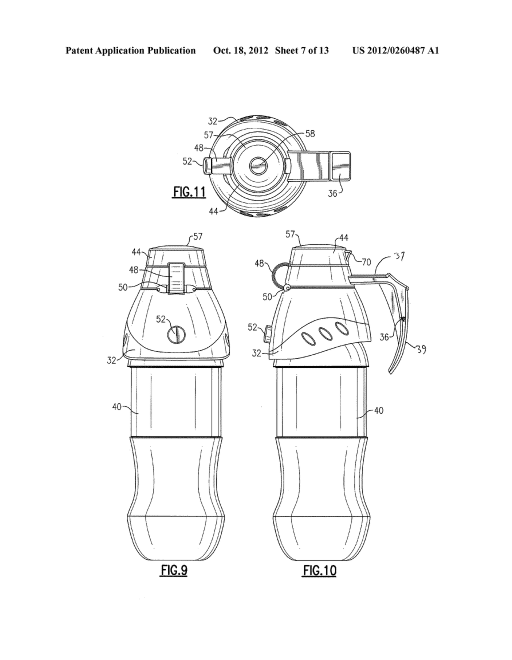 REPLACEABLE BOTTLE CAP ASSEMBLY - diagram, schematic, and image 08