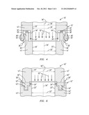 INTERFACE BETWEEN A COMBUSTOR BASKET AND A TRANSITION OF A GAS TURBINE     ENGINE diagram and image