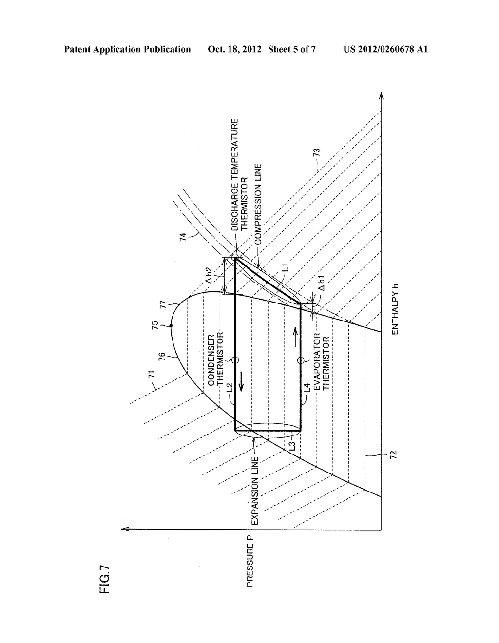 AIR CONDITIONER, METHOD FOR CONTROLLING OPENING OF EXPANSION VALVE, AND     COMPUTER-READABLE RECORDING MEDIUM WITH EXPANSION VALVE OPENING CONTROL     PROGRAM RECORDED THEREON - diagram, schematic, and image 06