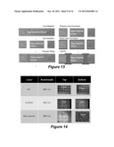 THROUGH PACKAGE VIA STRUCTURES IN PANEL-BASED SILICON SUBSTRATES AND     METHODS OF MAKING THE SAME diagram and image