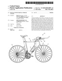 BICYCLE WITH INTERNAL STORAGE SYSTEM diagram and image