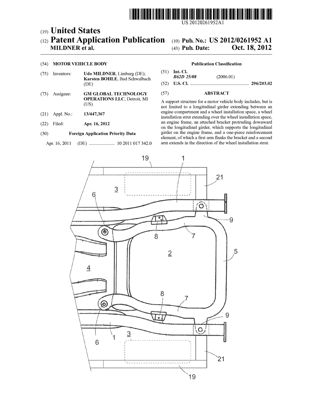 MOTOR VEHICLE BODY - diagram, schematic, and image 01