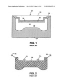 VENTED MOLD AND METHOD FOR PRODUCING MOLDED ARTICLE diagram and image