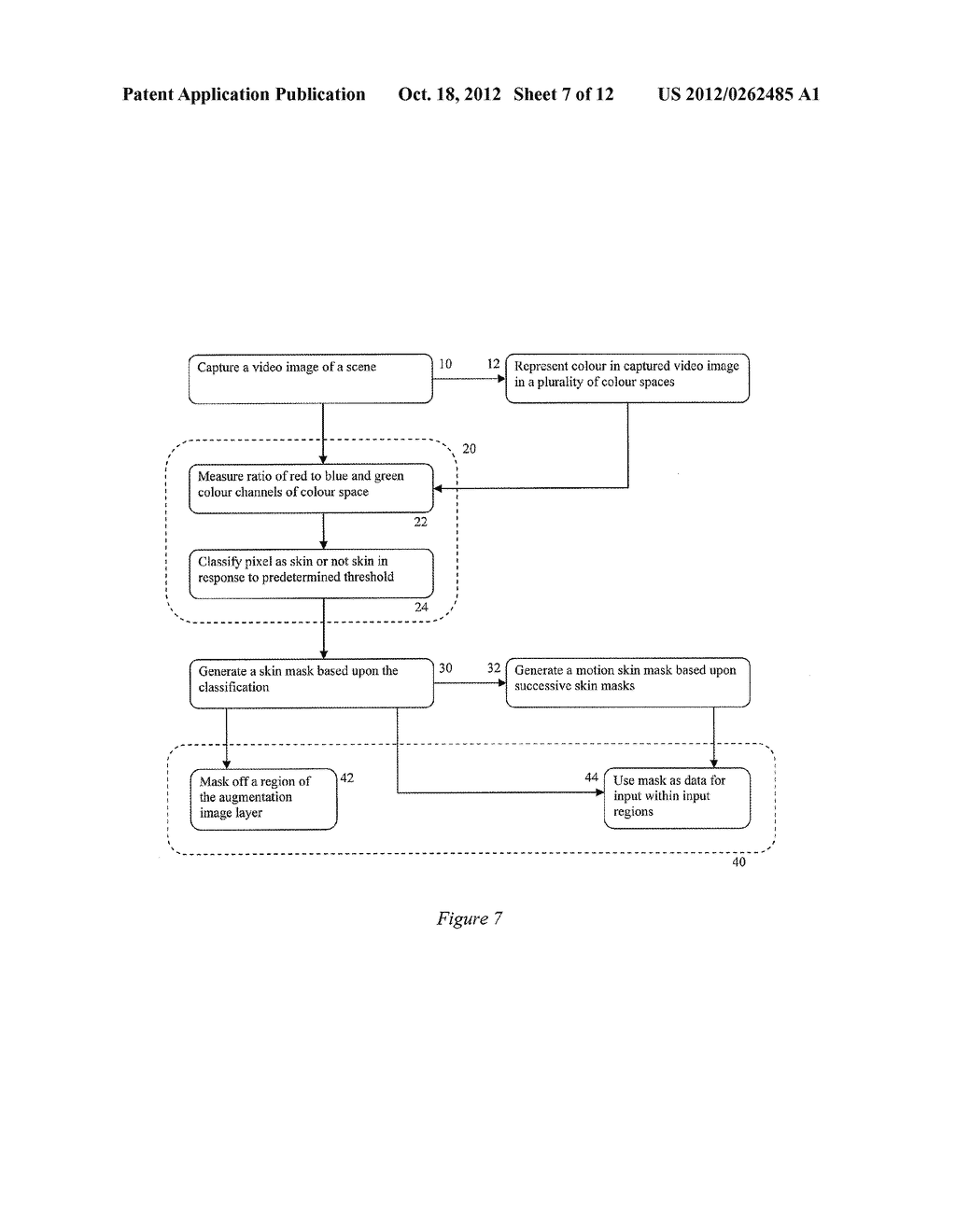 SYSTEM AND METHOD OF INPUT PROCESSING FOR AUGMENTED REALITY - diagram, schematic, and image 08