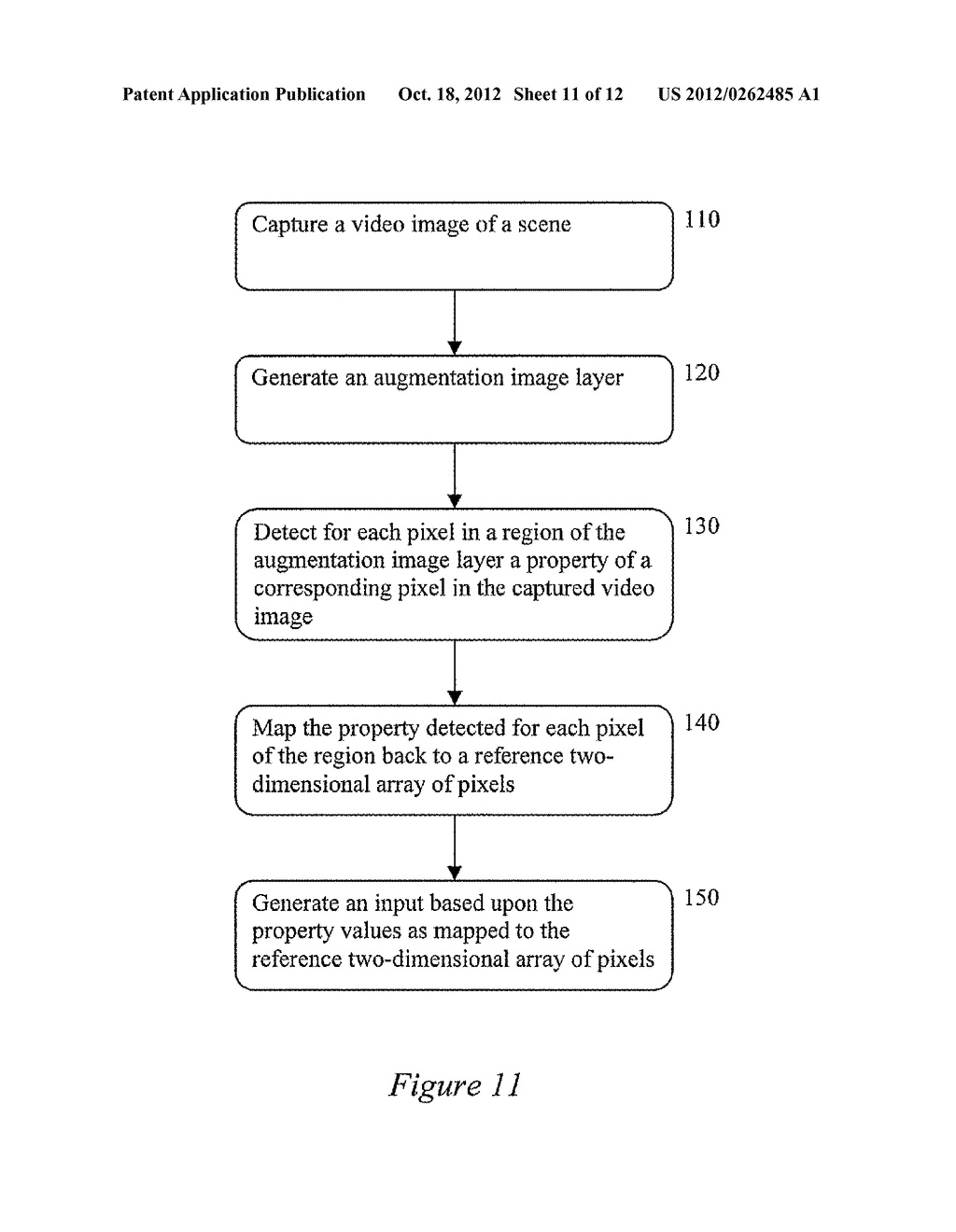 SYSTEM AND METHOD OF INPUT PROCESSING FOR AUGMENTED REALITY - diagram, schematic, and image 12