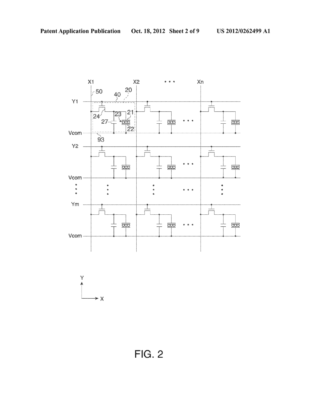 CONTROL METHOD FOR ELECTRO-OPTICAL DEVICE, CONTROL DEVICE FOR     ELECTRO-OPTICAL DEVICE, ELECTRO-OPTICAL DEVICE AND ELECTRONIC APPARATUS - diagram, schematic, and image 03