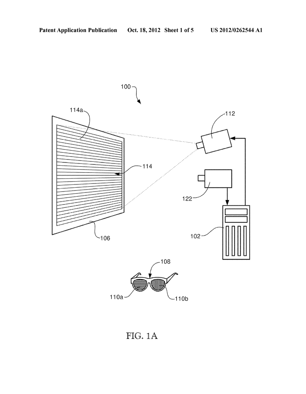 METHOD FOR COMPENSATING FOR CROSS-TALK IN 3-D DISPLAY - diagram, schematic, and image 02