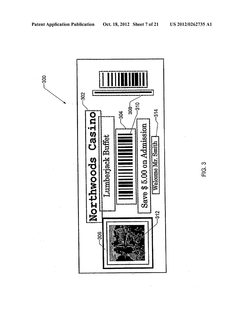 METHOD AND APPARATUS FOR GAMING PROMOTIONAL PRINTER - diagram, schematic, and image 08