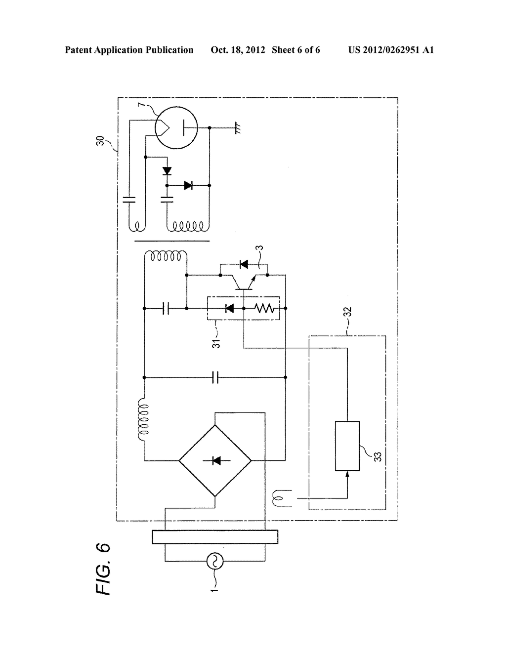 POWER CONVERTER HAVING SEMICONDUCTOR SWITCHING ELEMENT - diagram, schematic, and image 07