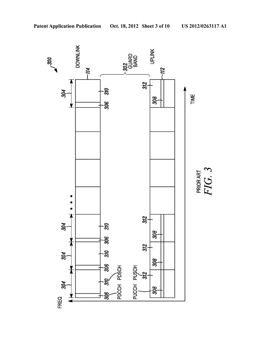 Method and Apparatus to Adjust the Control Region of a Subframe for     Reducing Interference Between Channels in Wireless Communication Systems - diagram, schematic, and image 04