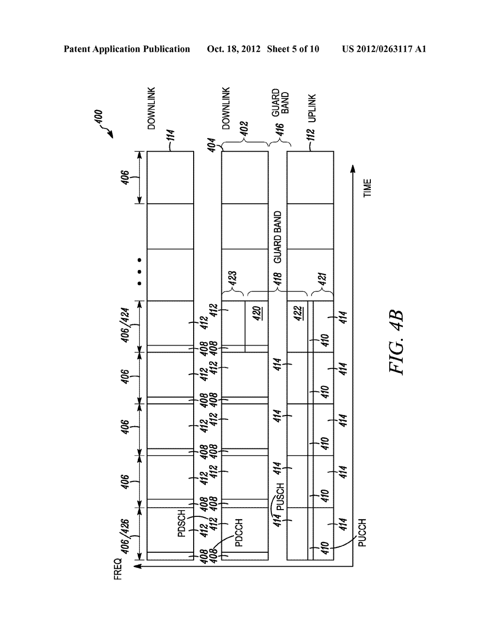 Method and Apparatus to Adjust the Control Region of a Subframe for     Reducing Interference Between Channels in Wireless Communication Systems - diagram, schematic, and image 06