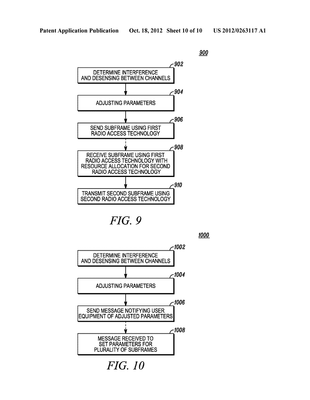 Method and Apparatus to Adjust the Control Region of a Subframe for     Reducing Interference Between Channels in Wireless Communication Systems - diagram, schematic, and image 11