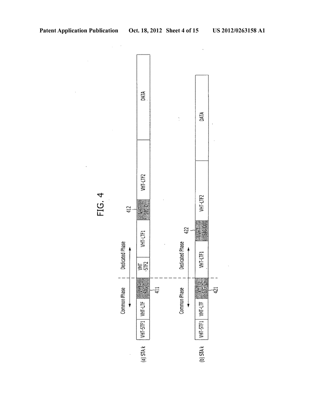 METHOD FOR TRANSMITTING CONTROL AND TRAINING SYMBOLS IN MULTI-USER     WIRELESS COMMUNICATION SYSTEM - diagram, schematic, and image 05
