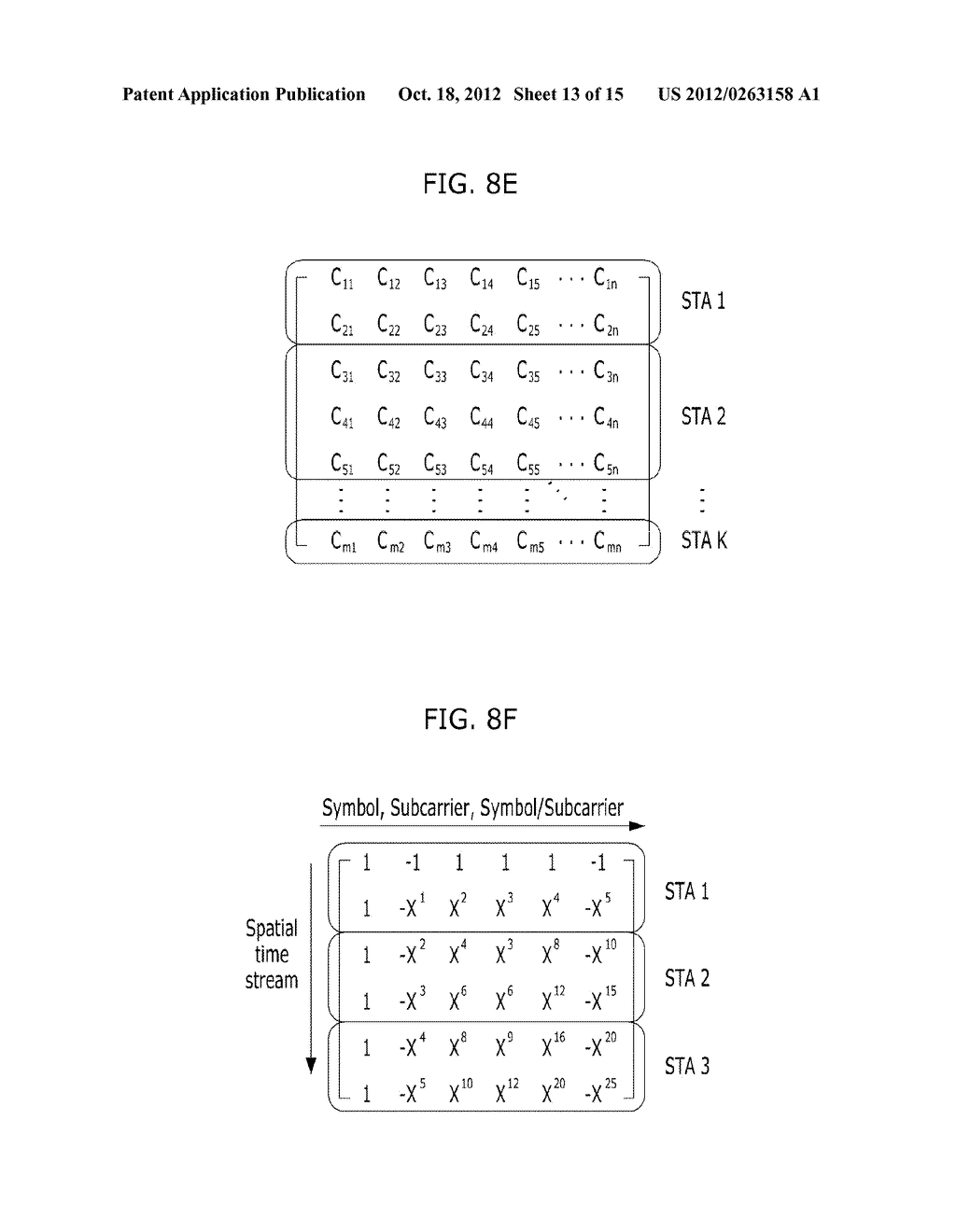 METHOD FOR TRANSMITTING CONTROL AND TRAINING SYMBOLS IN MULTI-USER     WIRELESS COMMUNICATION SYSTEM - diagram, schematic, and image 14