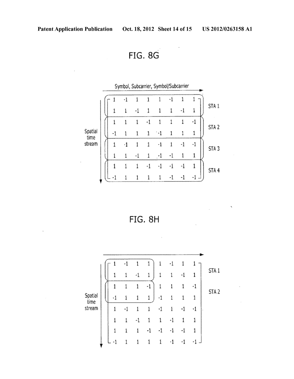 METHOD FOR TRANSMITTING CONTROL AND TRAINING SYMBOLS IN MULTI-USER     WIRELESS COMMUNICATION SYSTEM - diagram, schematic, and image 15