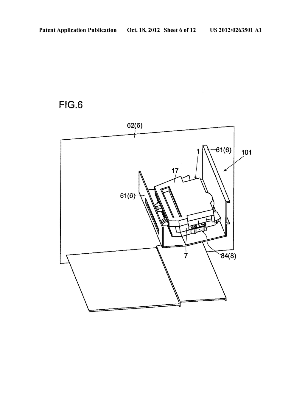 HOUSING IMMOBILIZING MECHANISM, IMAGE FORMING APPARATUS, AND HOUSING     IMMOBILIZING METHOD - diagram, schematic, and image 07
