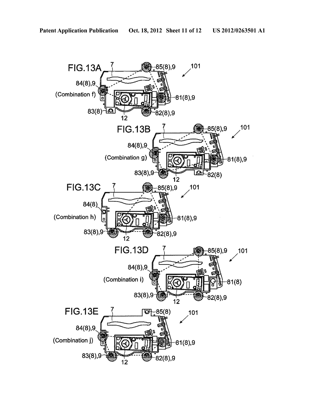 HOUSING IMMOBILIZING MECHANISM, IMAGE FORMING APPARATUS, AND HOUSING     IMMOBILIZING METHOD - diagram, schematic, and image 12