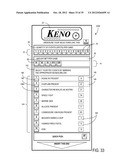 CONTENT DETERMINATIVE GAME SYSTEMS AND METHODS FOR KENO AND LOTTERY GAMES diagram and image