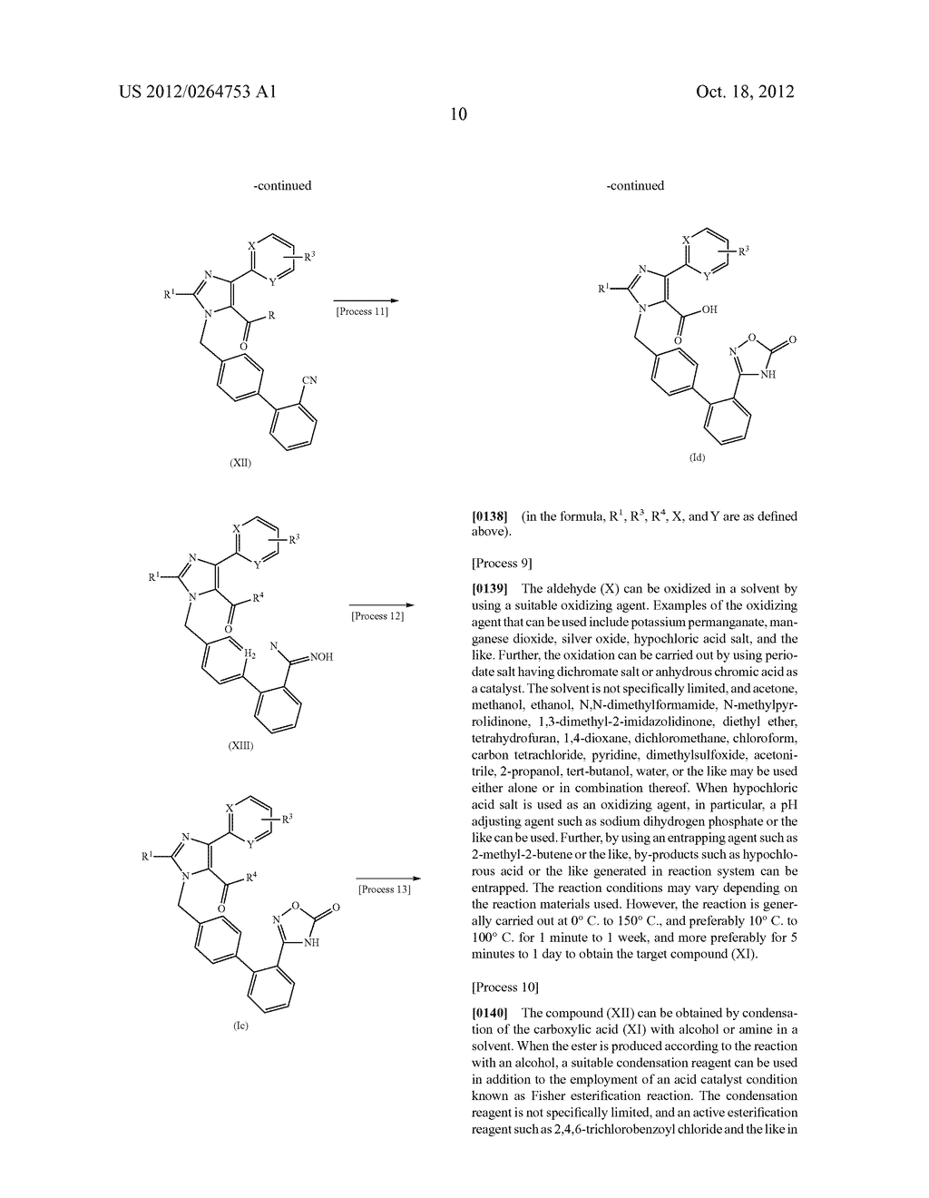 NOVEL 1-(BIPHENYL-4-YL-METHYL)-1H-IMIDAZOLE DERIVATIVE AND PHARMACEUTICAL     PRODUCT CONTAINING SAME - diagram, schematic, and image 11