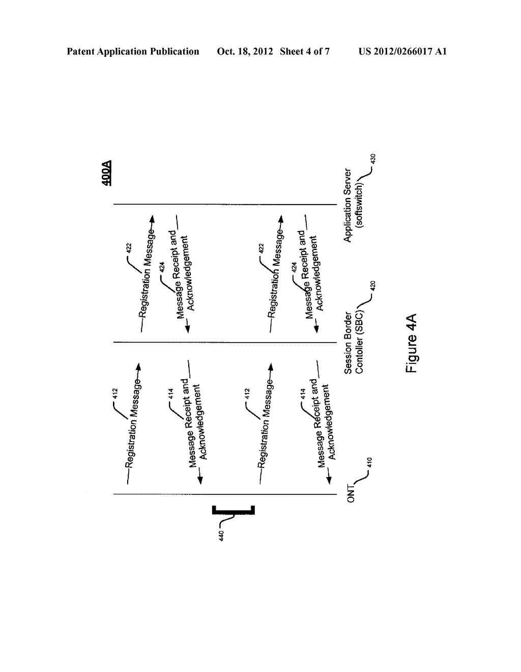 SYSTEM AND METHOD FOR REGISTRATION OF A NETWORK ACCESS DEVICE DURING LOSS     OF POWER - diagram, schematic, and image 05
