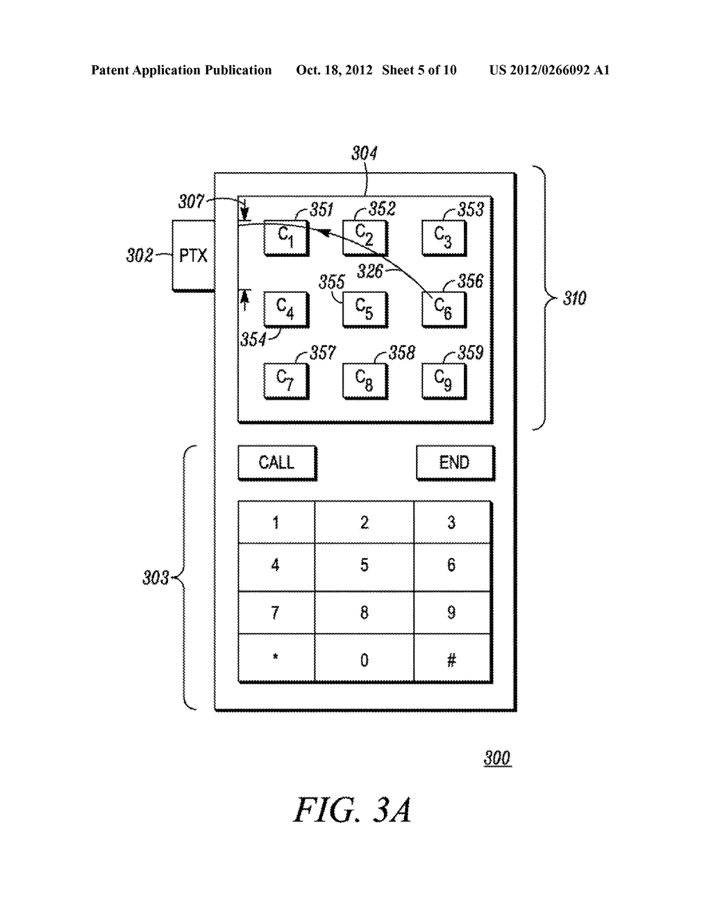 Method and Apparatus for Performing a Function in an Electronic Device - diagram, schematic, and image 06