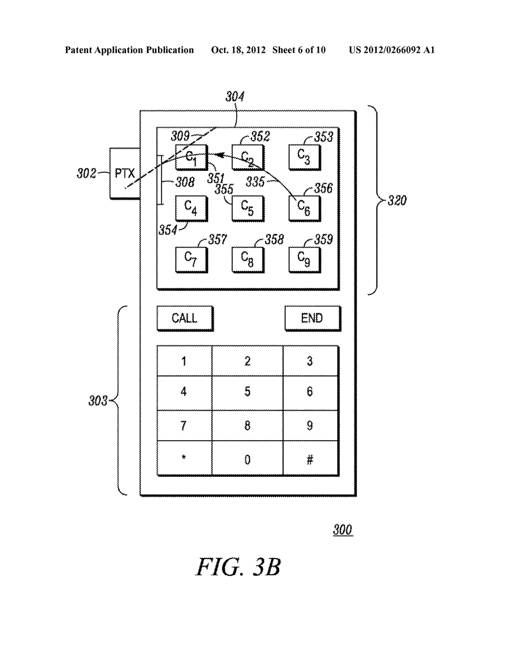 Method and Apparatus for Performing a Function in an Electronic Device - diagram, schematic, and image 07