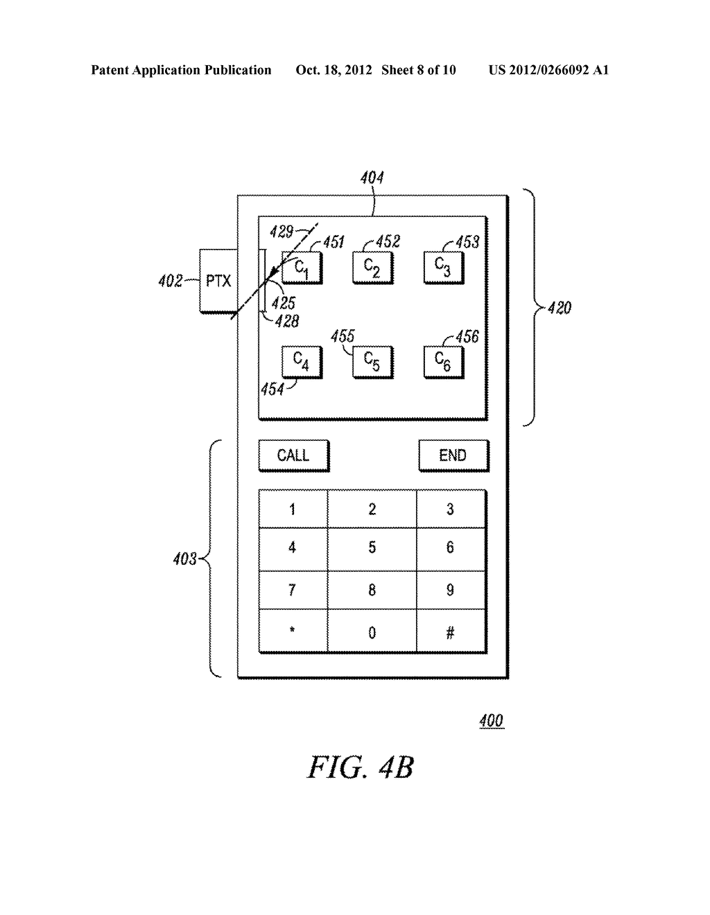 Method and Apparatus for Performing a Function in an Electronic Device - diagram, schematic, and image 09