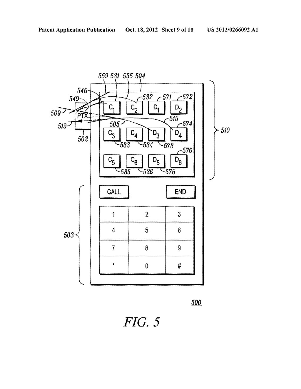 Method and Apparatus for Performing a Function in an Electronic Device - diagram, schematic, and image 10