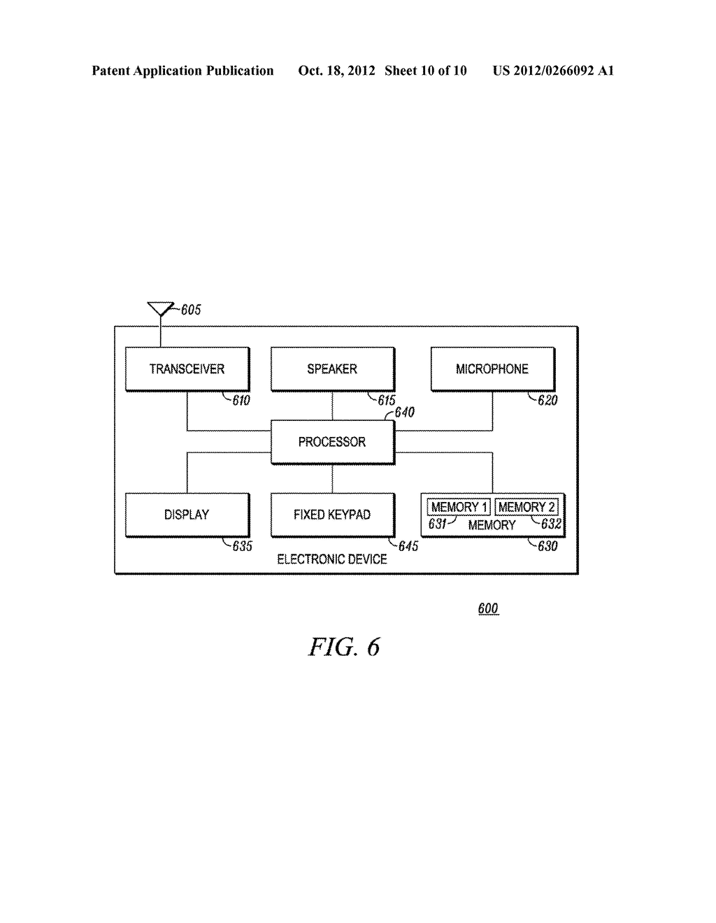 Method and Apparatus for Performing a Function in an Electronic Device - diagram, schematic, and image 11