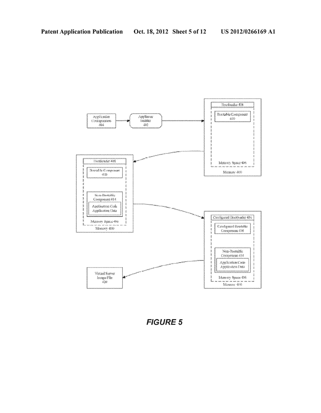 SYSTEM AND METHOD FOR CREATING OR RECONFIGURING A VIRTUAL SERVER IMAGE FOR     CLOUD DEPLOYMENT - diagram, schematic, and image 06