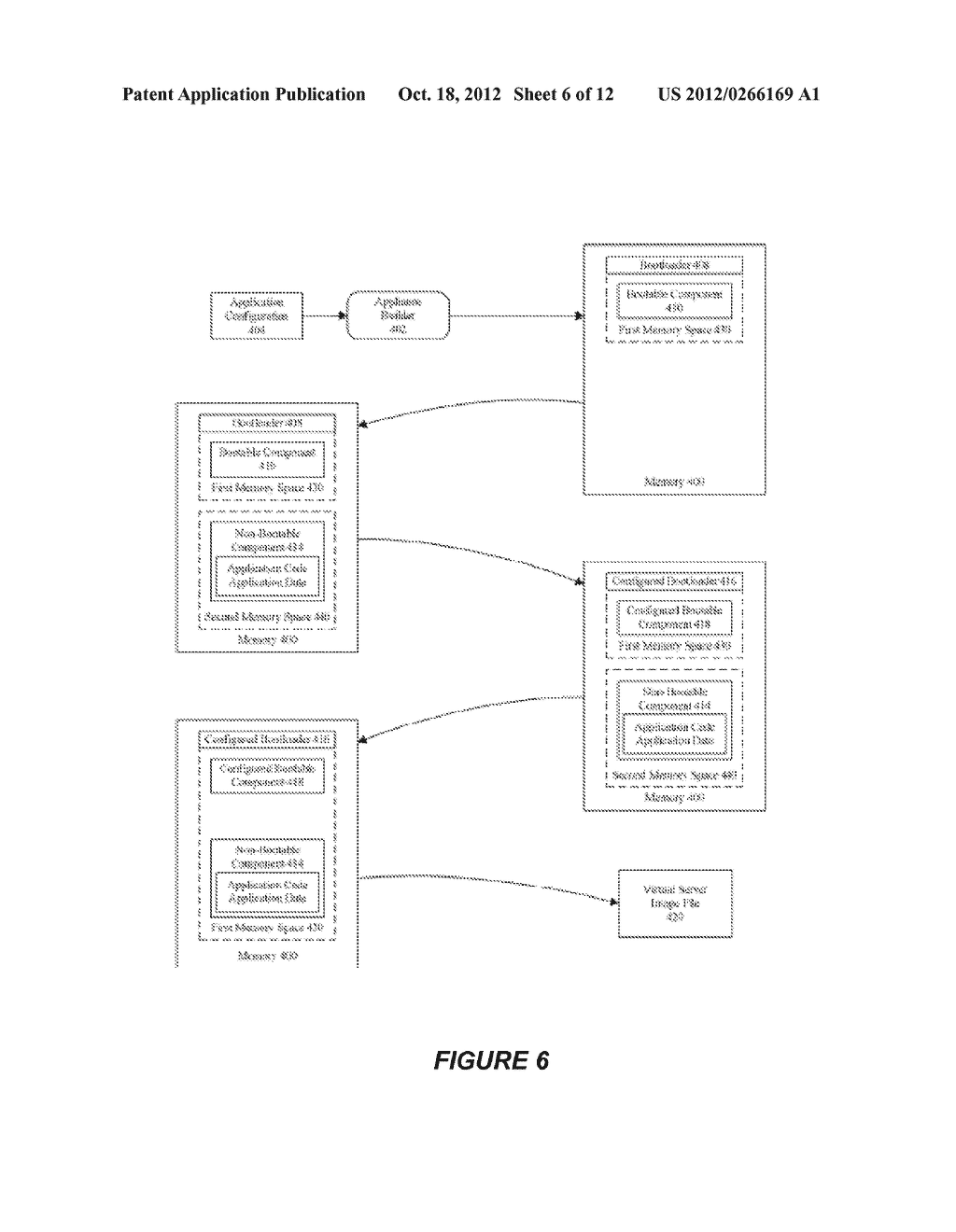 SYSTEM AND METHOD FOR CREATING OR RECONFIGURING A VIRTUAL SERVER IMAGE FOR     CLOUD DEPLOYMENT - diagram, schematic, and image 07