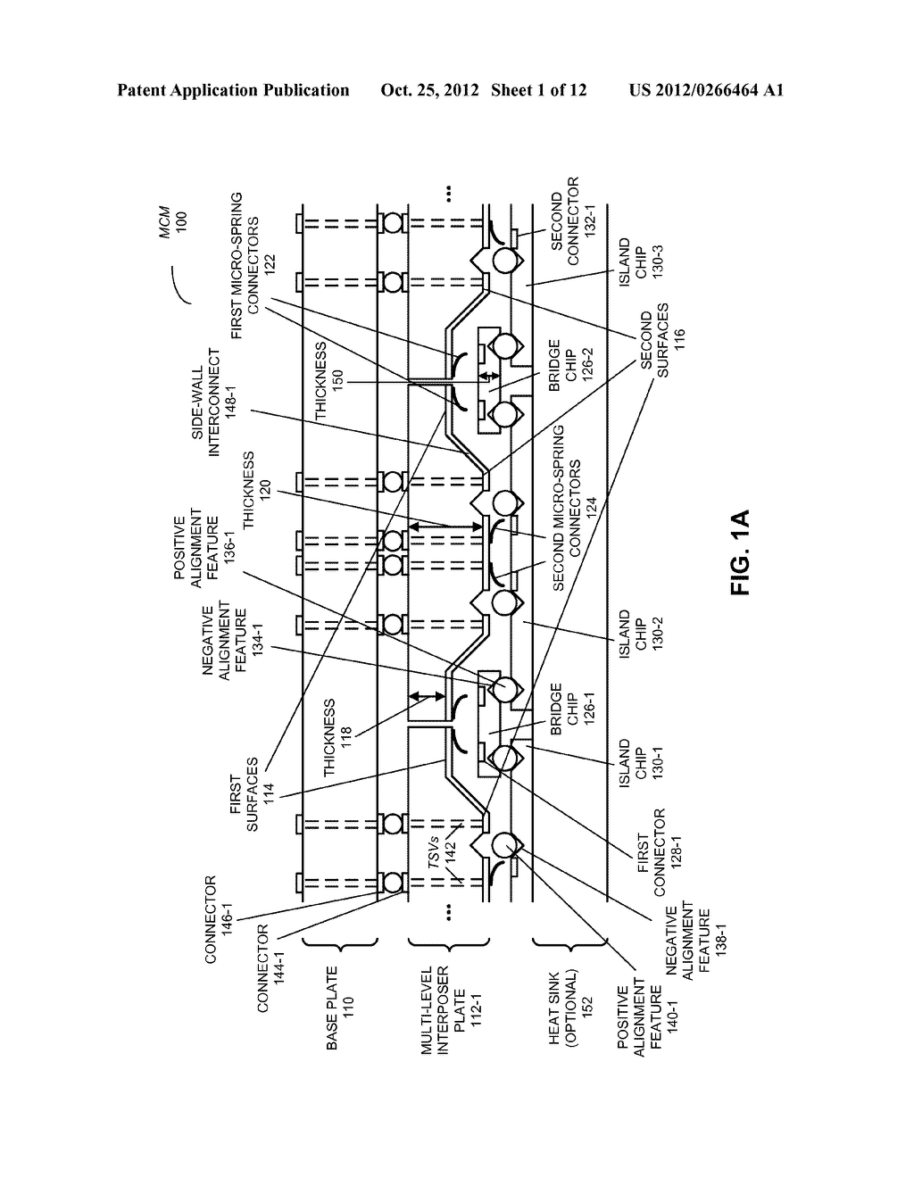 MULTI-CHIP MODULE WITH MULTI-LEVEL INTERPOSER - diagram, schematic, and image 02