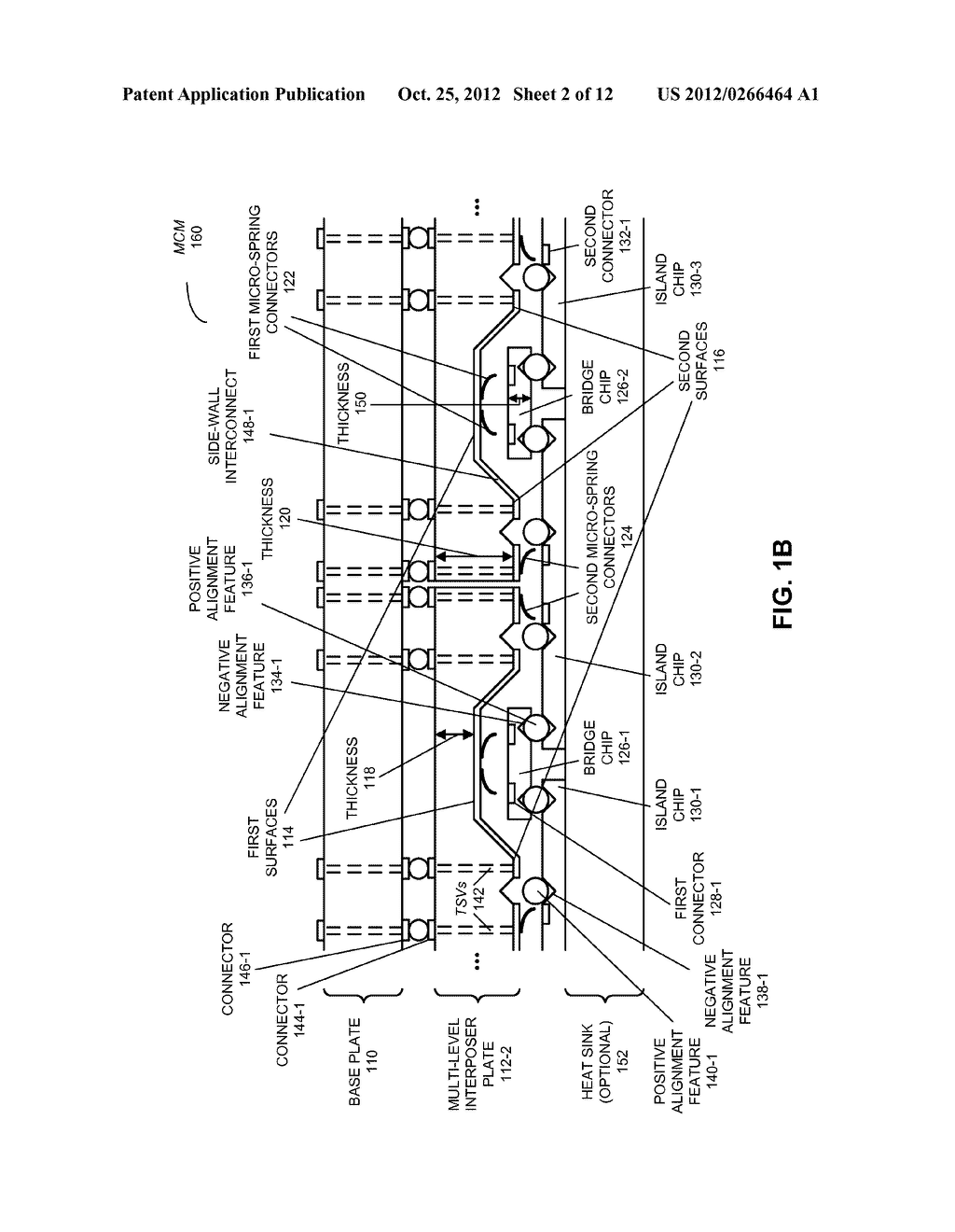 MULTI-CHIP MODULE WITH MULTI-LEVEL INTERPOSER - diagram, schematic, and image 03
