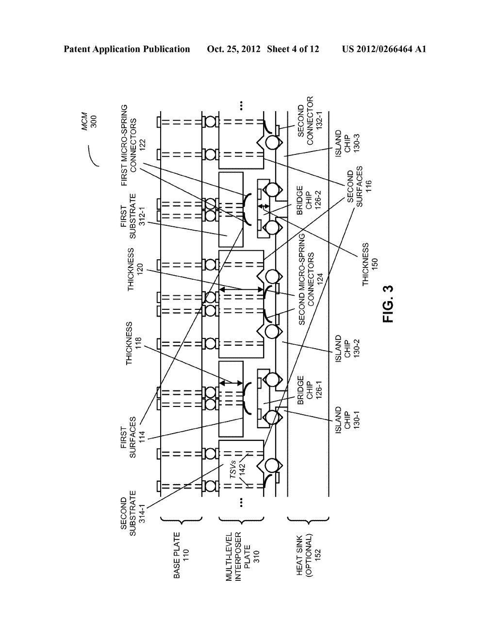 MULTI-CHIP MODULE WITH MULTI-LEVEL INTERPOSER - diagram, schematic, and image 05